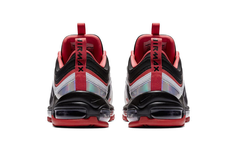 17e61c777 nike air max 97 ultra iridescent black red silver 2018 footwear nike  sportswear