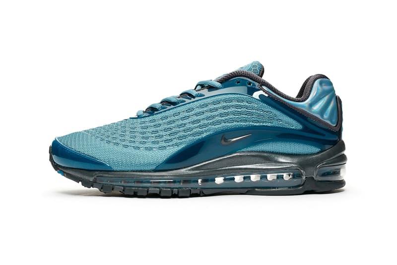 Nike Air Max Deluxe Celestial Teal Blue Grey 90s sneaker trainer skepta release details information anthracite