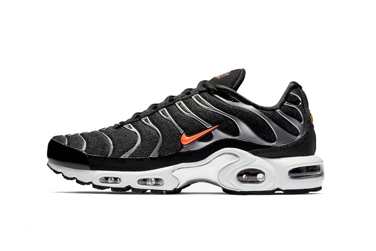 detailed look 165fc 4de59 ... Air Max Plus 97 Colorway · Metallic Silver and Nike s Hallmark Shade of  Orange Adorn This AM Plus