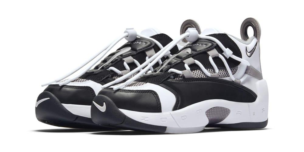 Nike Air Swoopes 2 Black White Grey