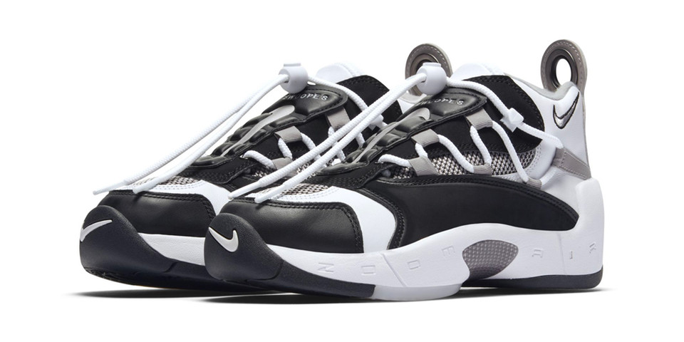 the latest ea066 522ed Nike Air Swoopes 2 Black White Grey Info  HYPEBEAST