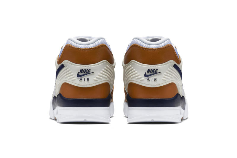 Nike Air Trainer 3 Medicine Ball 2019 Release colorway sneaker brown navy white date info price bo jackman og official imagery images size