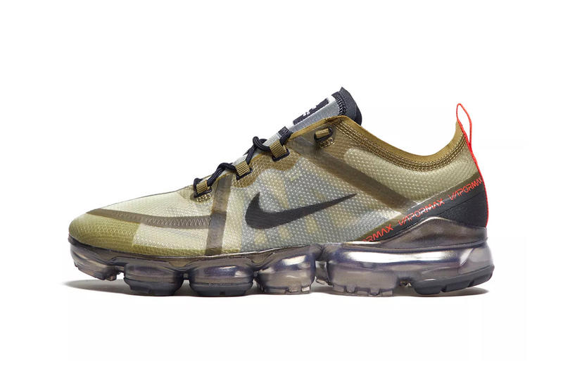 adb8d0a5e4 Nike Air VaporMax 2019 Arrives With Military-Inspired Olive Colorway. A  great start to '19.