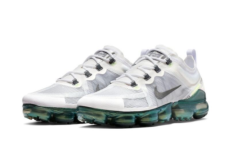 "Nike Air Vapormax 2019 PRM ""White Lime"" Oregon Green Color AT6810-100 January"