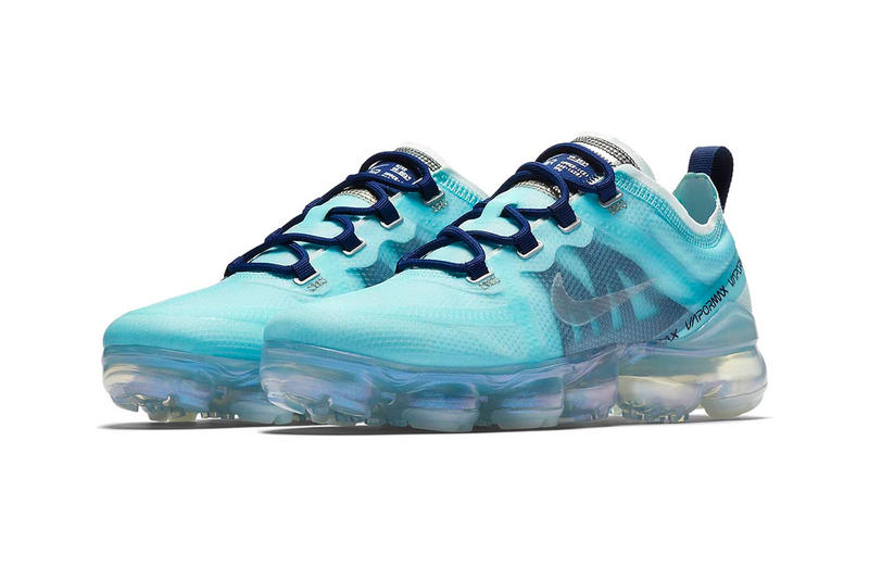 """Nike Air VaporMax 2019 """"Teal Tint/Blue Void"""" release date info price womens colorway sneaker purchase stockist nike.com Color: Teal Tint/Blue Void/Spruce Fog/Teal Tint Style Code: AR6632-300"""