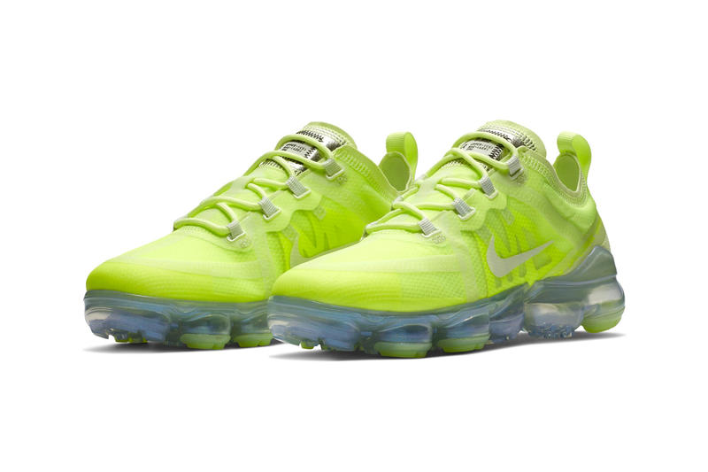 "Nike Air VaporMax 2019 ""Volt Glow"" Release Date price sneaker swoosh"