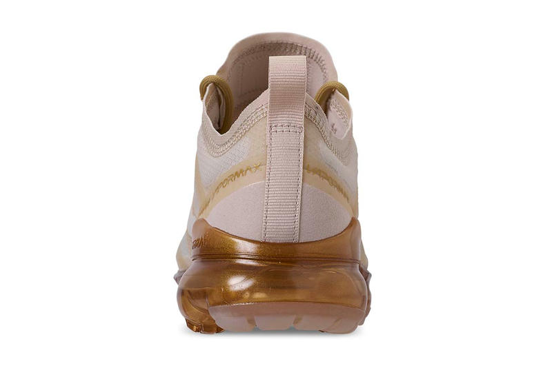 "Nike Air VaporMax 2019 ""White/Metallic Gold"" release date info price colorway sneaker womens size mens december 20 2018 Color: White/White-Metallic Gold Style Code: AR6632-101"