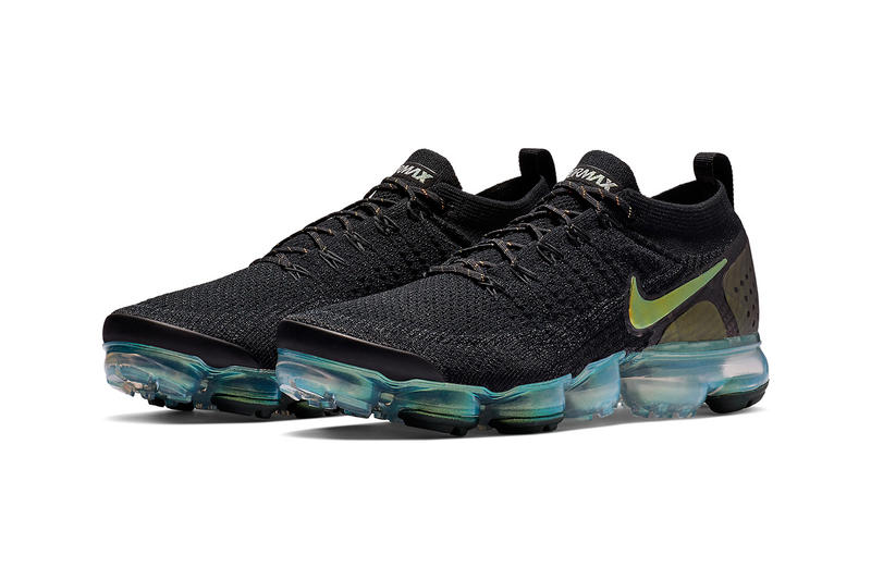 premium selection b59f9 c8529 Nike Air VaporMax Flyknit 2.0 Black Iridescent Teal colorway release date  info price sneaker translucent sole