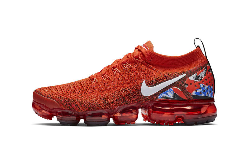 4869ad5781dff Nike Air Vapormax Flyknit 2.0 Red First Look First Look Shoes Sneakers  Trainers Kicks Footwear Cop