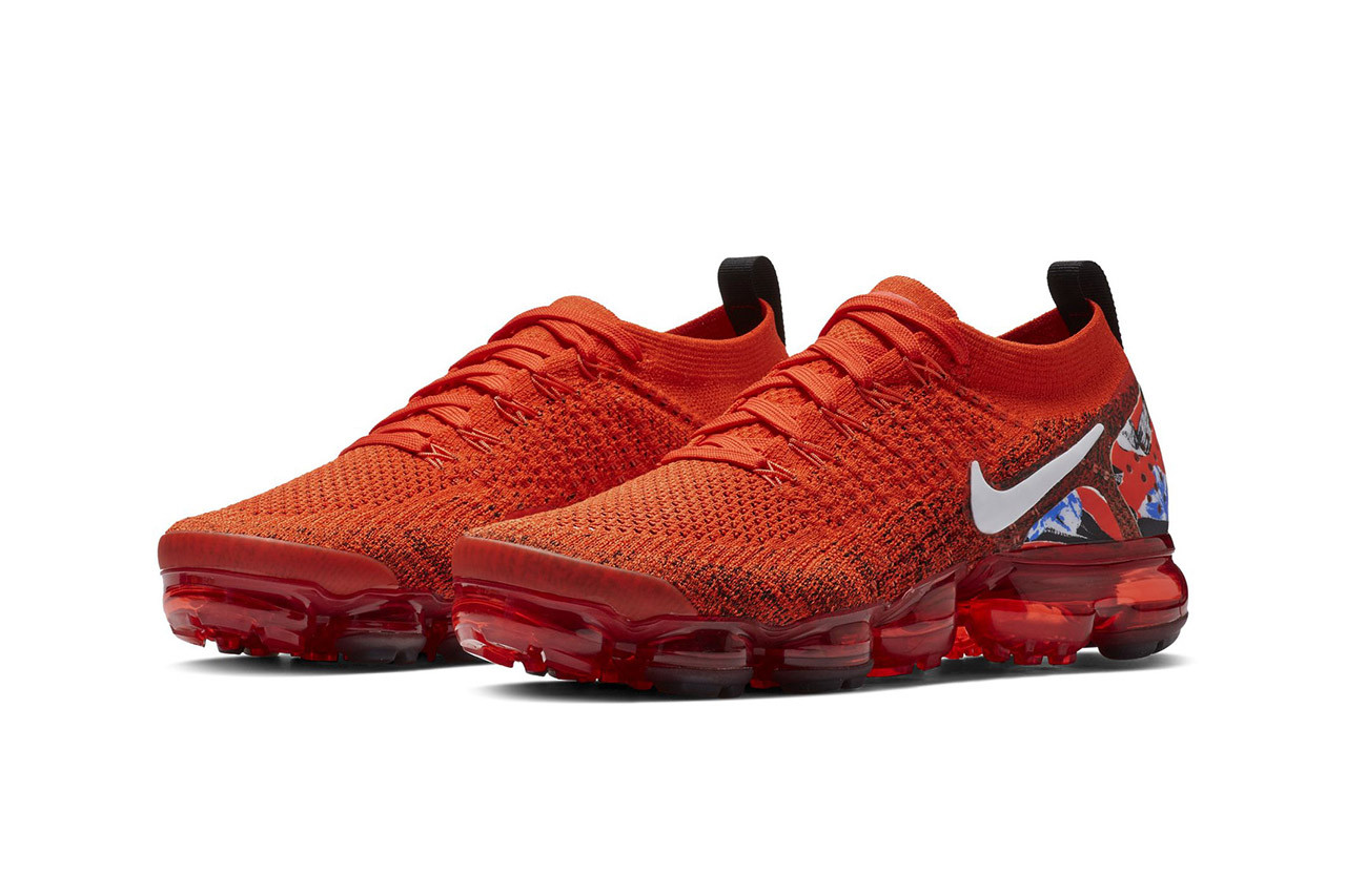 eb185cd4fa Nike Air Vapormax Flyknit 2.0 Red First Look First Look Shoes Sneakers  Trainers Kicks Footwear Cop