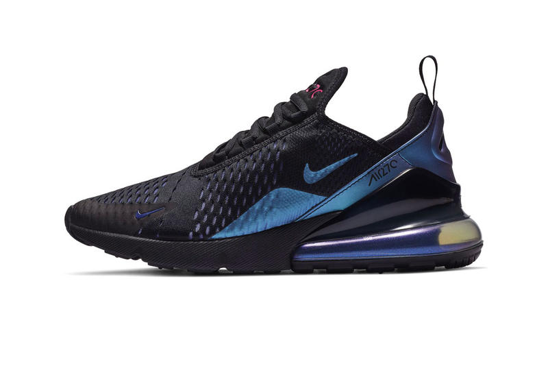 Nike Air Black Laser Fuchsia Regency Purple Air Max Info release 270 97 deluxe vapormax run utility pink violet teal blue