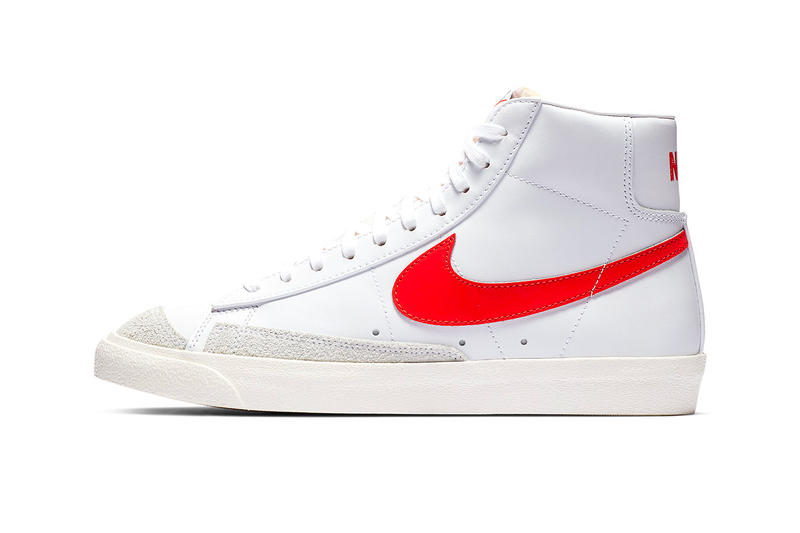 the latest 4eae8 6b581 Nike Blazer Mid 77 vintage 2019 info sportswear kicks og colorway red  classic basketball retro january