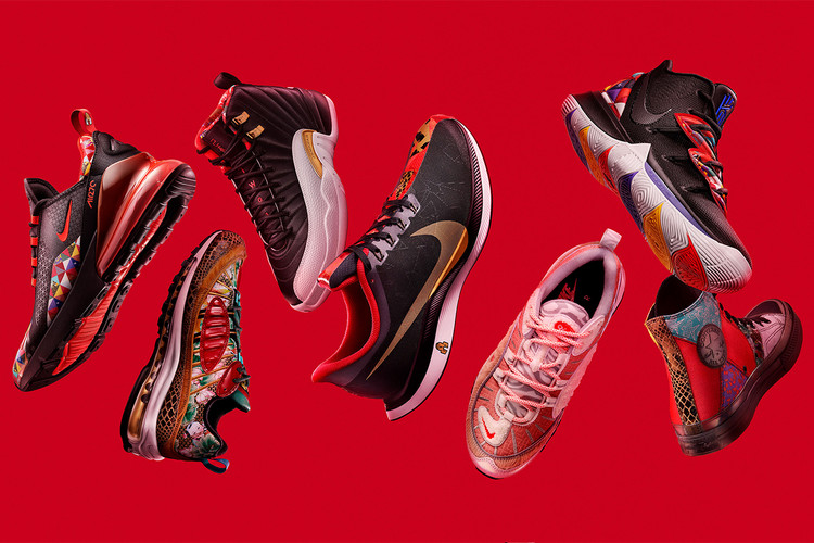 sale retailer dfd16 33754 Nike Unveils Full Chinese New Year Collection