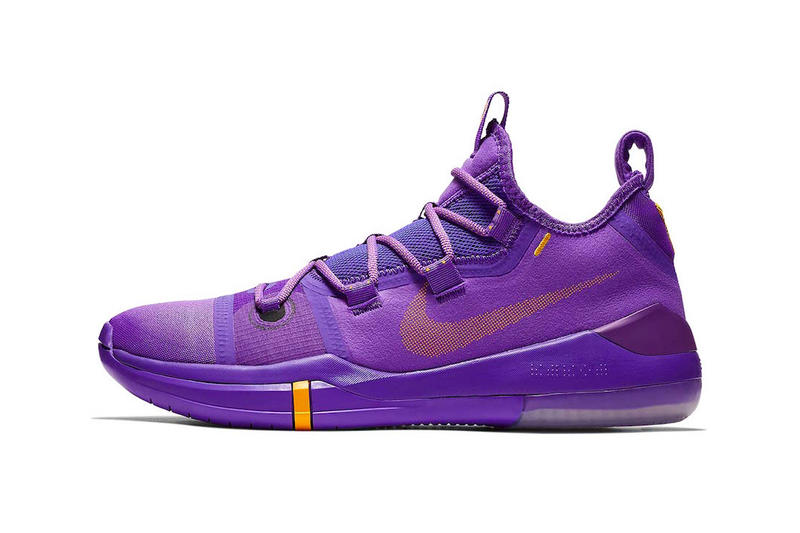 "2bb0c41e5a7 Nike Basketball Kobe A.D. ""Hyper Grape University Gold-Black"" ""Amarillo"