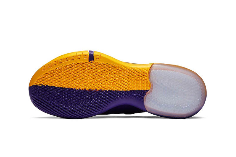 "Nike Basketball Kobe A.D. ""Hyper Grape/University Gold-Black"" ""Amarillo/Court Purple-Black"" ""Lakers Pack"" Los Angeles Lakers release info price stockist"