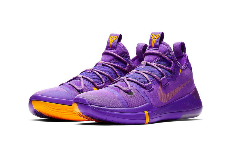 "info for 25fa4 28664 Nike Basketball Kobe A.D. ""Hyper Grape/University Gold-Black"" ""Amarillo/"