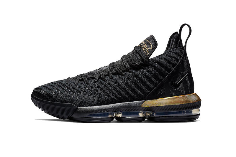 huge discount c0760 b253b nike lebron 16 im king release date 2018 december footwear nike basketball  black metallic gold. 1 of 4. Sneaker Bar Detroit