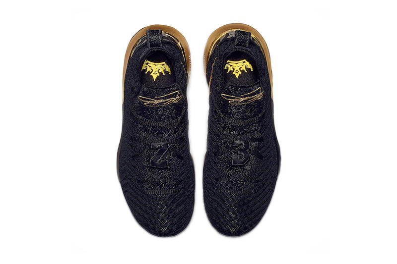 nike lebron 16 im king release date 2018 december footwear nike basketball black metallic gold