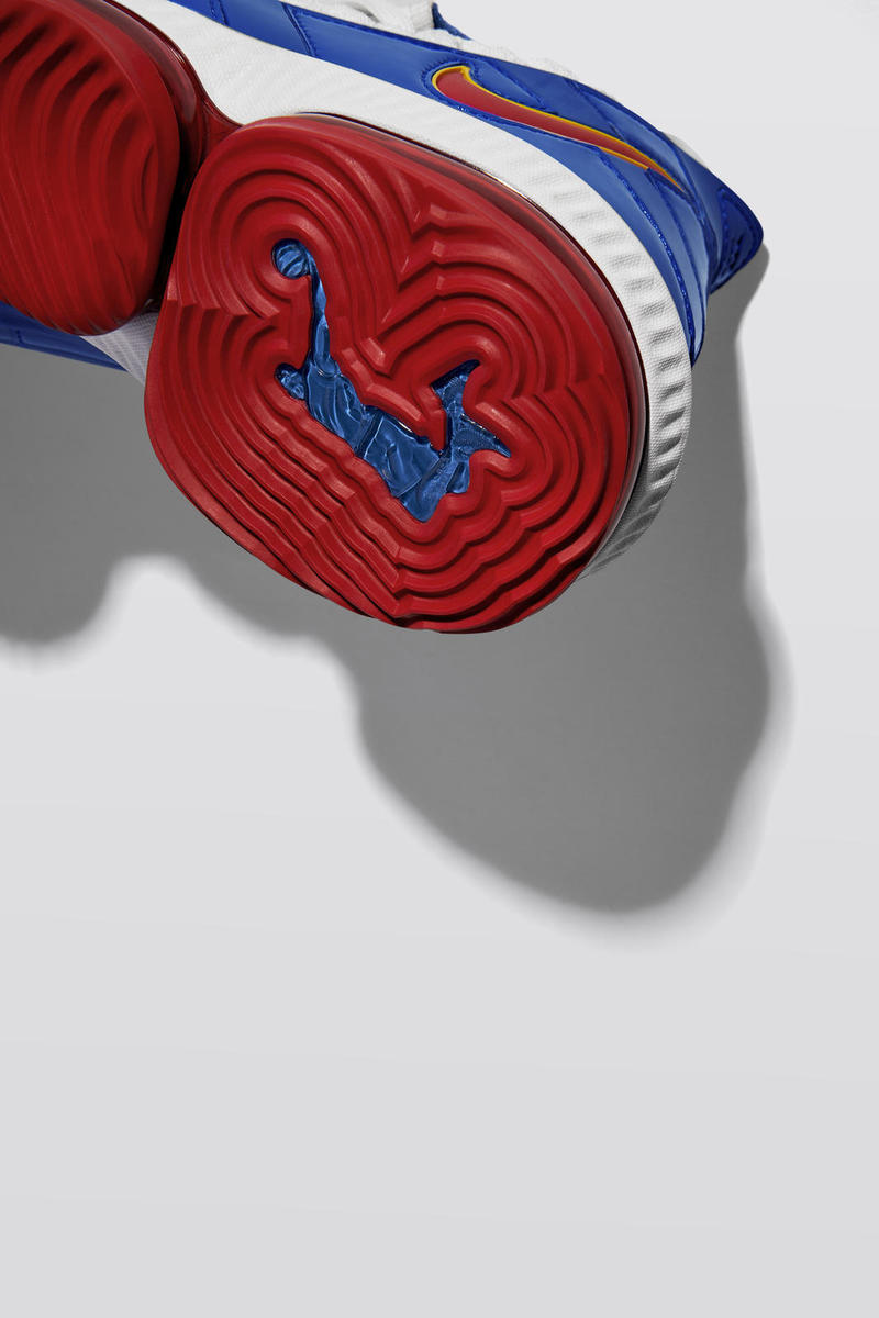"Nike LeBron 16 ""SB"" Lakers vs. Warriors Release Christms LeBron James SuperBron"