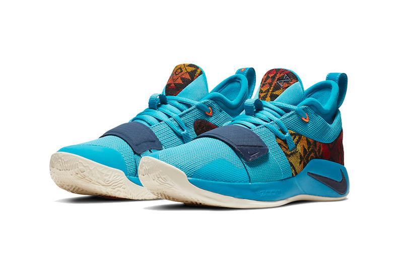 nike pg 2 5 pendleton release date 2018 december multi color college navy