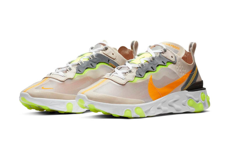 "Nike ""Light Orewood"" Release orange yellow"