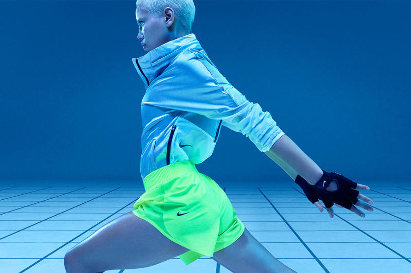 nike spring 2019 tech pack sportswear fashion lookbook jacket coat shorts hoodie tights sports bras