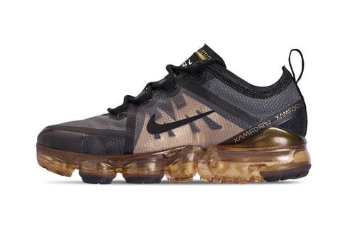 Nike VaporMax 2019 Black/Gold