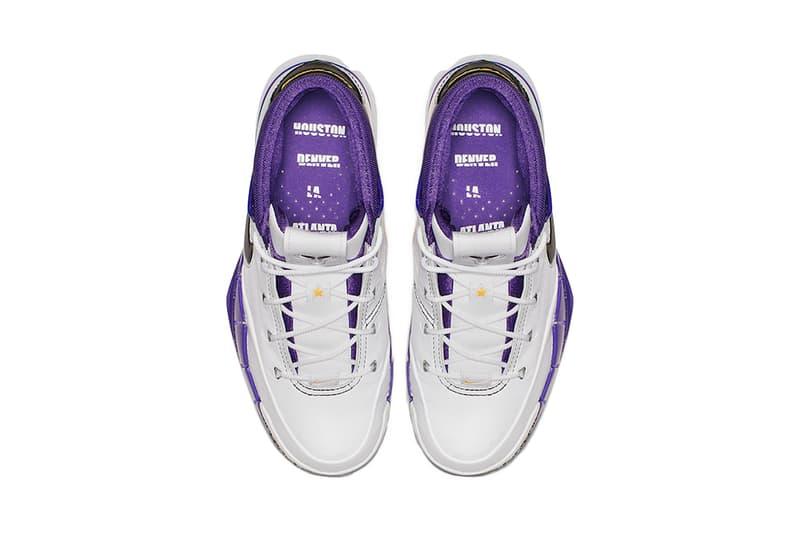 Nike Zoom Kobe bryant 1 Protro 81 Point Game points january 22 2006 2019 13th anniversary 13 thirteen  toronto raptors black white court purple gold yellow uptempo