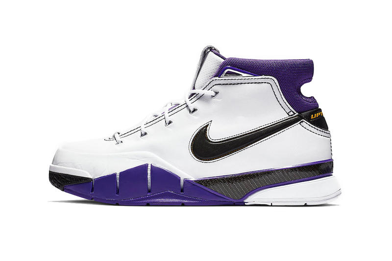 Nike Zoom Kobe bryant 1 Protro 81 Point Game points january 22 2006 2019 13th anniversary 13 thirteen  toronto raptors black white court purple gold yellow uptempo