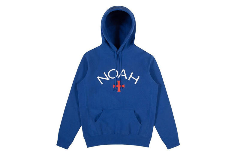 Noah Fall/Winter 2018 Core Logo Hoodie Details Fashion Clothing Sweater Pullover Jumper Dover Street Market Los Angeles @noahclothing