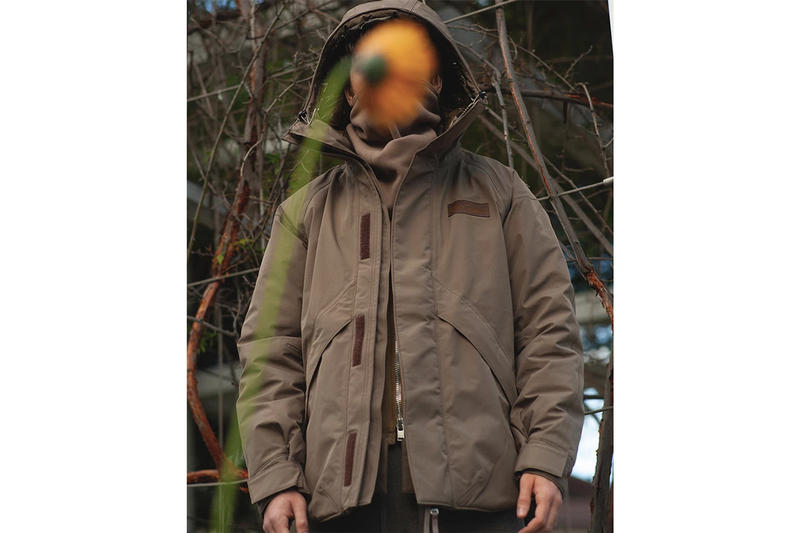 nonnative WILD THINGS Denali Jacket Details Closer First Look gore tex explorer puff