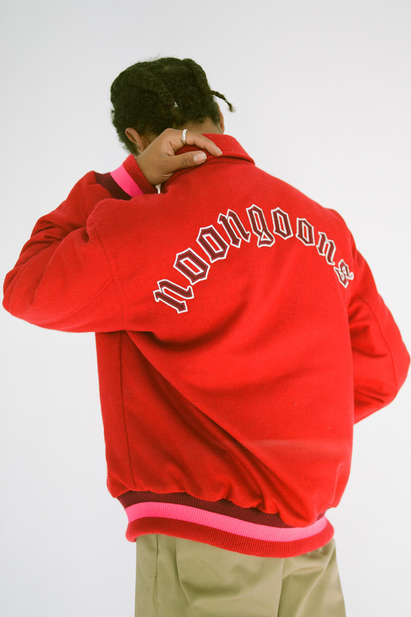 Noon Goons Pre-Fall 2019 Collection Release Lookbook Jacket Tracksuit Sweater hoodie T shirt
