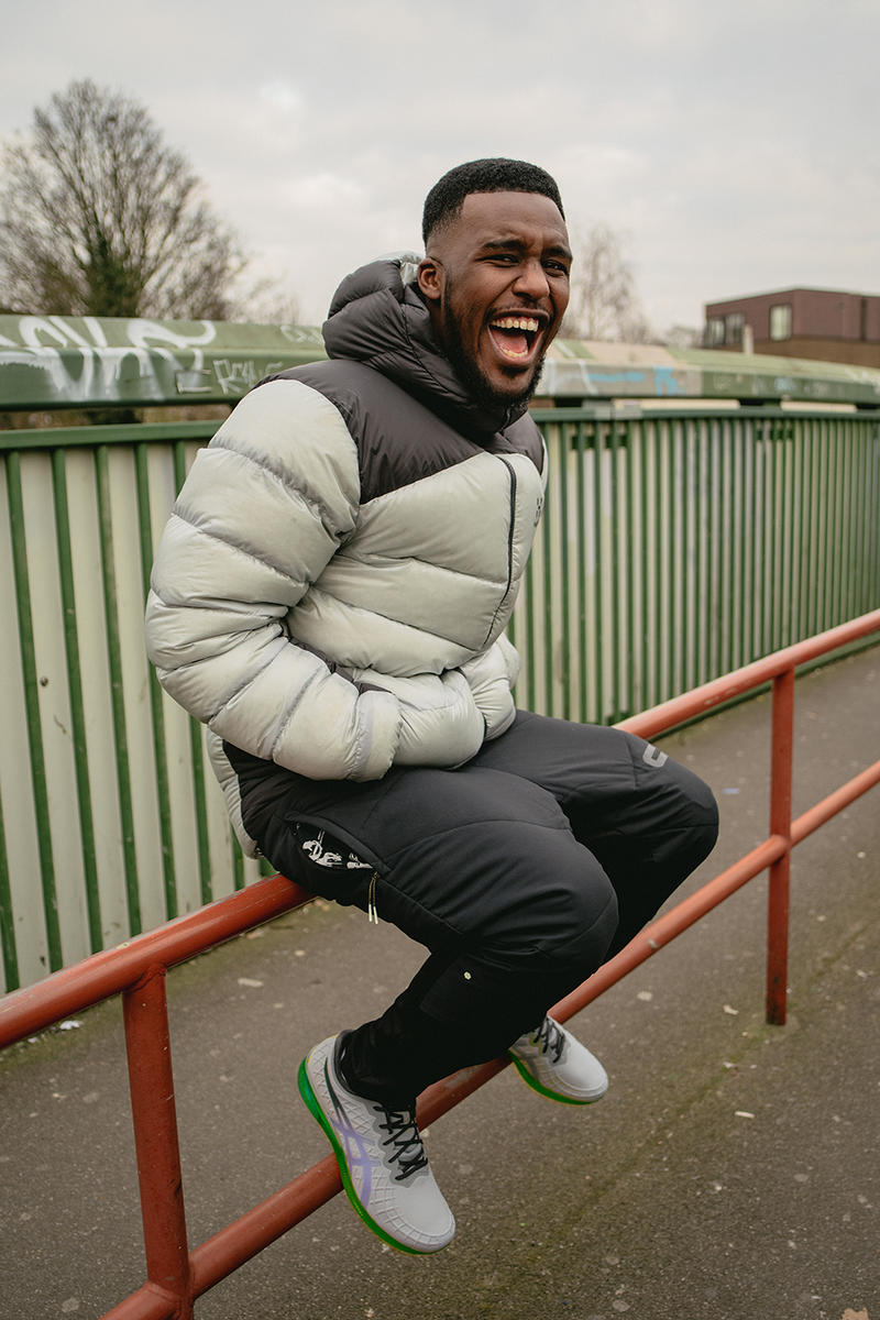 Novelist Interview ASICS GEL-QUANTUM-INFINITY London Limitless Possibilities Grime MC