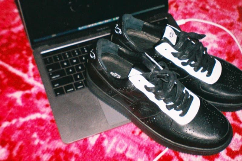NUMBER (N)INE Starwalk Sneaker Release Info Date White Black Barneys New York STRADA ES Gab3 Uzi Hoyee Li