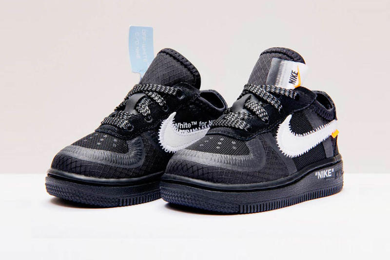 official photos 2b8cc f7de9 Nike Off White Air Force 1 af1 Black Cone Volt Release december 19 2018  price black