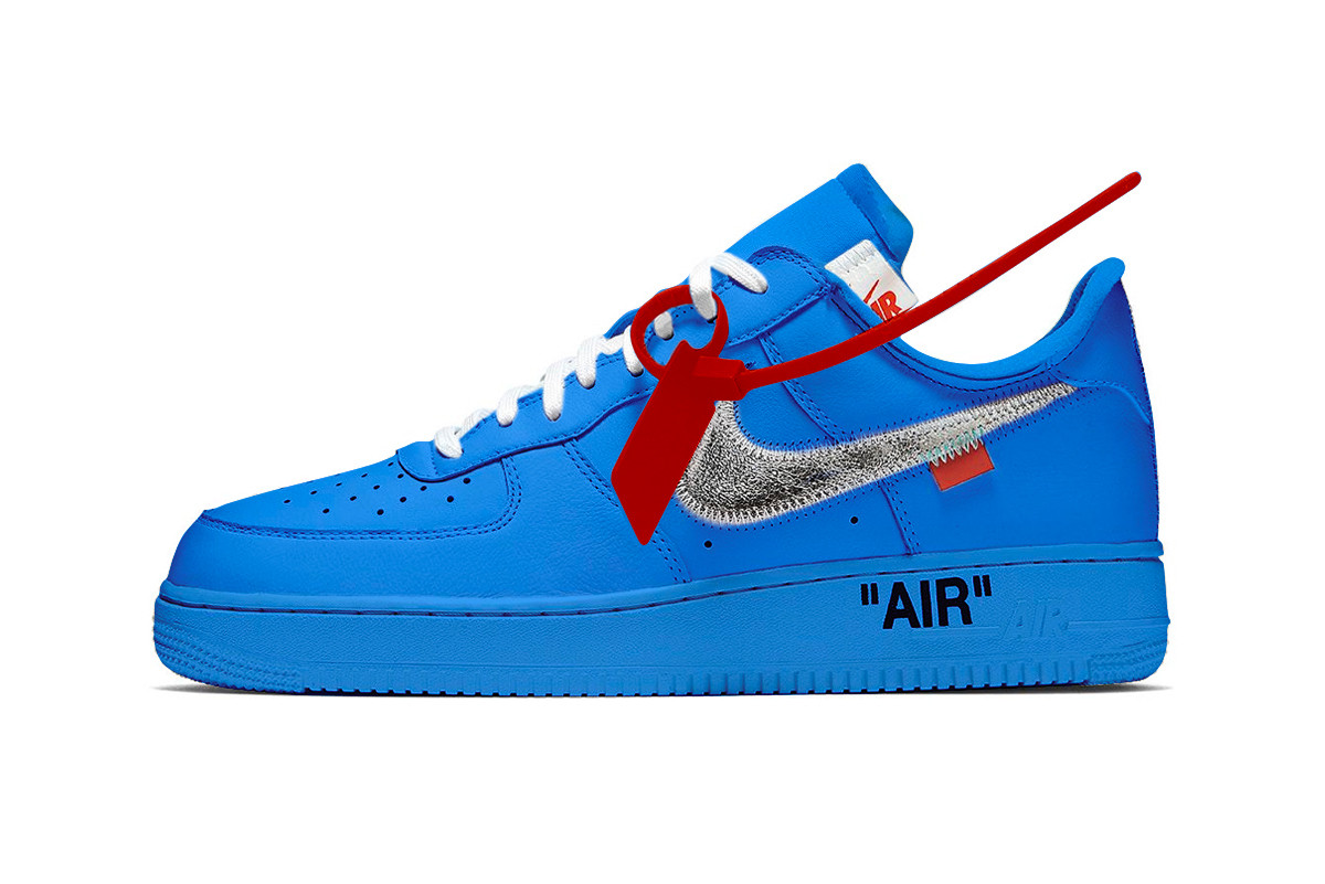nike off white air force 1 release date
