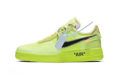 "Off-White™ x Nike Air Force 1 Low ""Volt"""