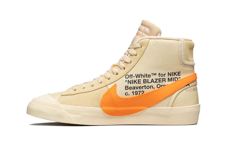 Off White X Nike Blazer All Hallows Eve Giveaway Hypebeast