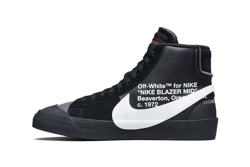 "Off White Nike Blazer ""Grim Reaper"" Giveaway virgil abloh"