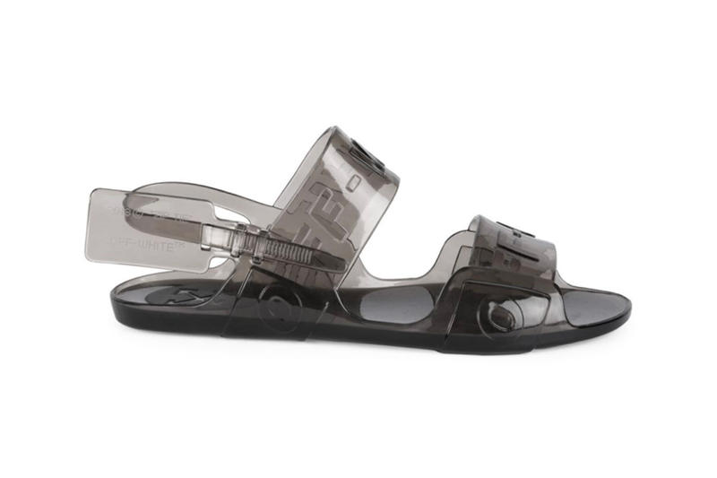 4269c4f029f1 Off-White™ Jelly Sandals Release black clear blue virgil abloh