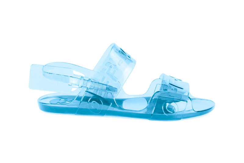 fae8fa001b56 Off-White™ Jelly Sandals Release black clear blue virgil abloh