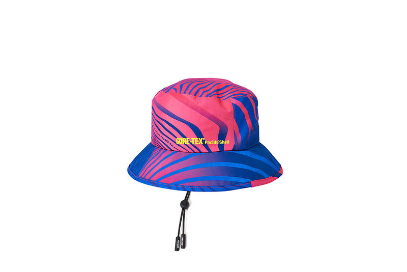 Palace GORE-TEX Vortex Jackets Bucket Hats Zebra Stripe White Black Blue Green Red Pink