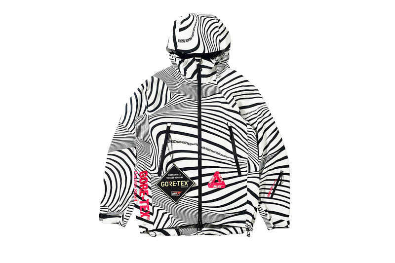 6e7acfde73651 Palace GORE-TEX Vortex Jackets Bucket Hats Zebra Stripe White Black Blue  Green Red Pink