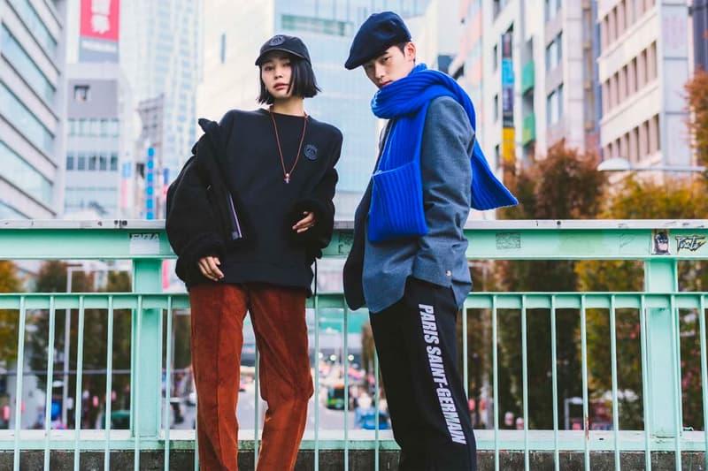 Paris Saint-Germain EDIFICE Capsule Collection Lookbook PSG Japanese Streetwear Fall Winter 2018