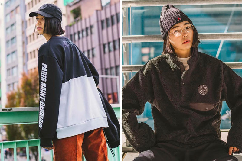 Paris Saint-Germain EDIFICE Capsule Collection Lookbook PSG Japanese Streetwear Fall Winter 2018