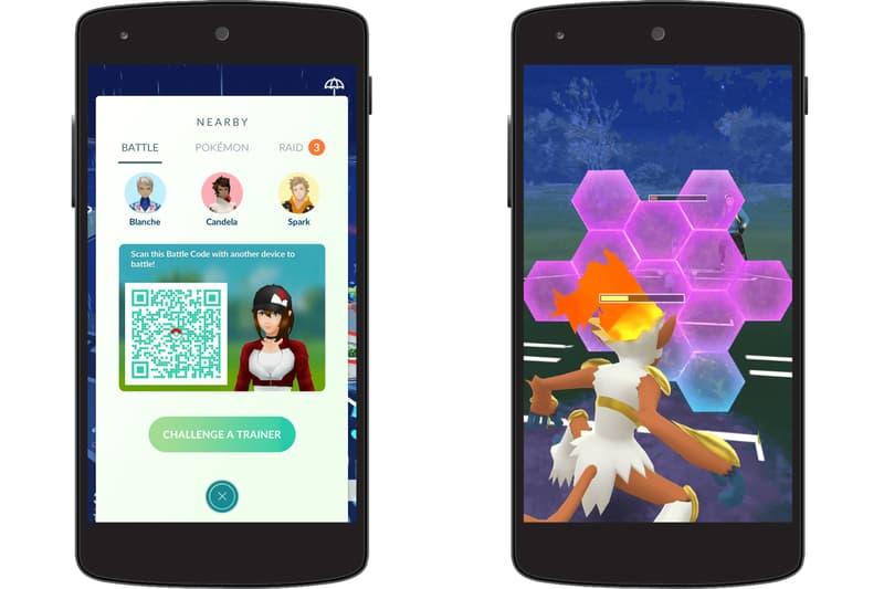Pokémon GO Introduces Trainer vs Trainer Battles Niantic