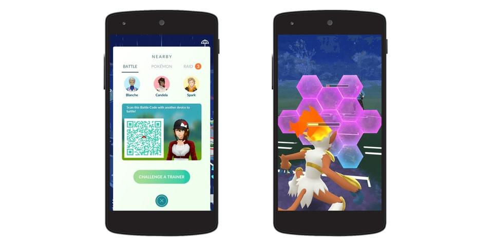 Pokémon GO Introduces Trainer vs Trainer Battles   HYPEBEAST