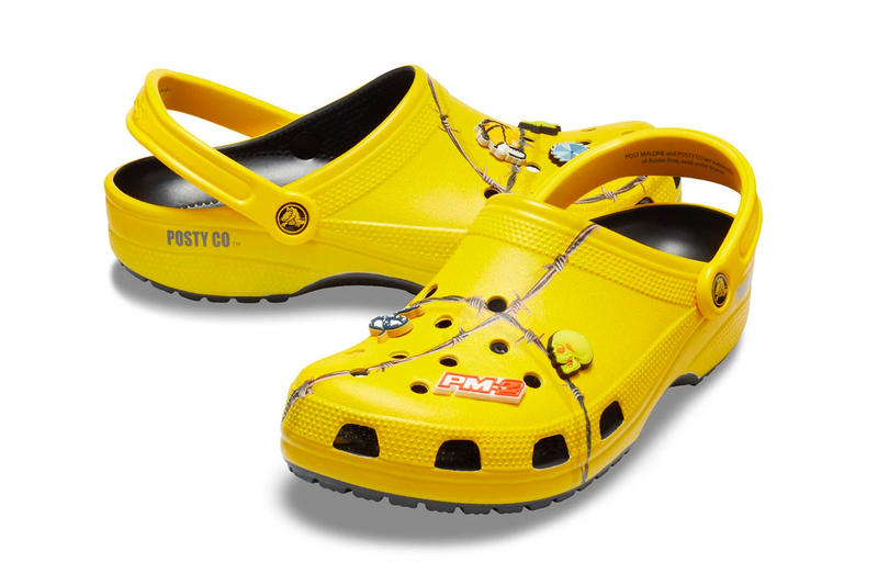 d0ddeaf99b87 Post Malone s Crocs Collab Resells for  900 USD Post Malone Crocs Barbed  Wire Clog