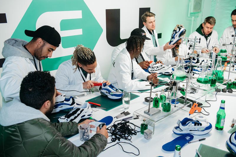 PUMA Cell Venom London Customisation Lab Pop-up Space Mr. Bailey David Mawdsley