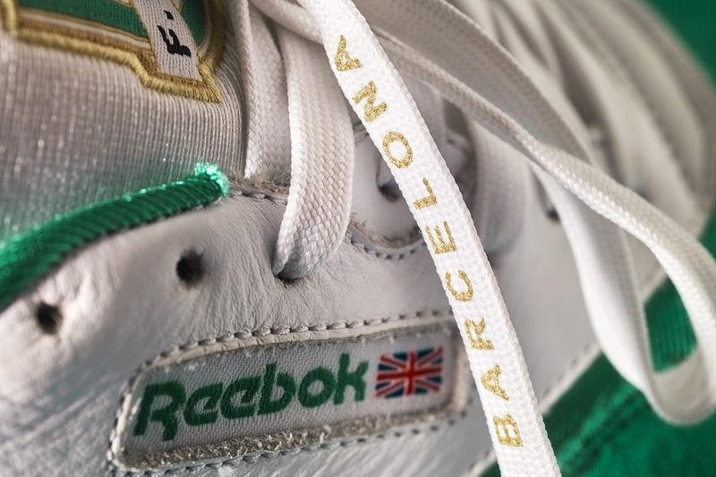 24 Kilates Reebok F.C.V.K Vol. II Futbolin Pack Classic Leather Nylon Sneakers Shoes Trainers Kicks Collab Collaboration Apparel Fashion Clothing